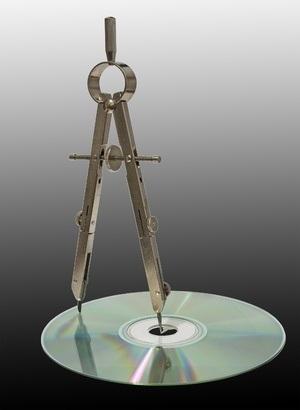 Compass disc